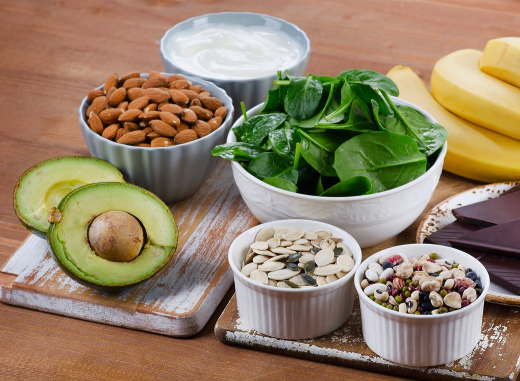 Foods with Magnesium Heart Risk Factors