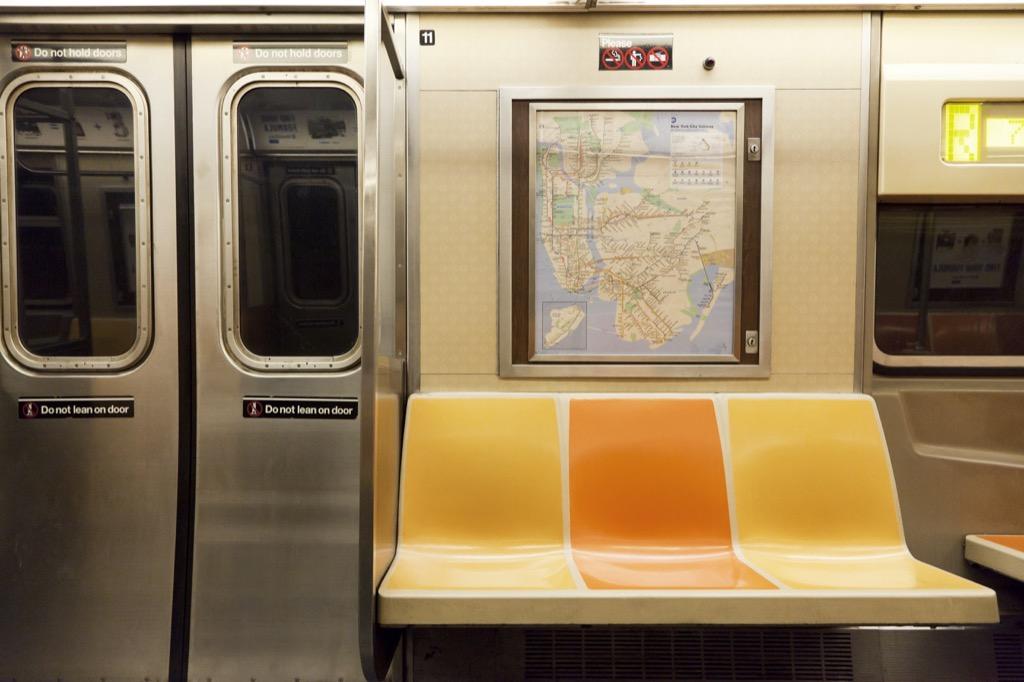 Subway, public transportation, scandalous