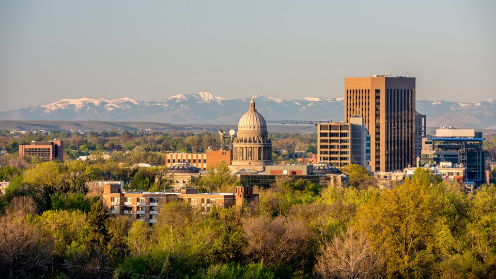boise idaho state capitol buildings