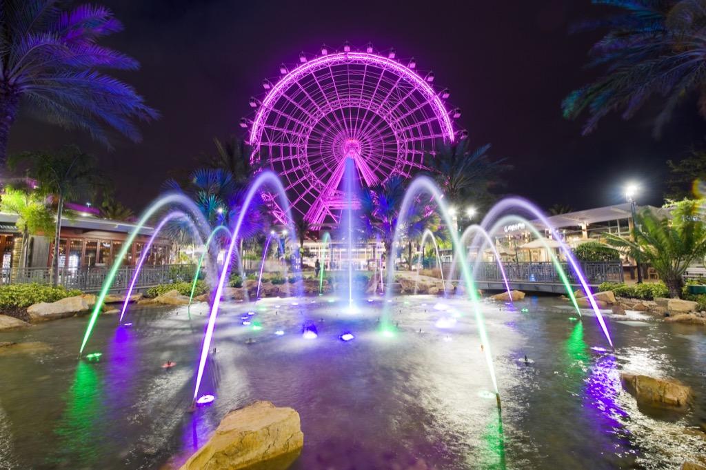 Orlando, happiest cities, drunkest cities, fittest cities, healthiest cities, best singles scenes