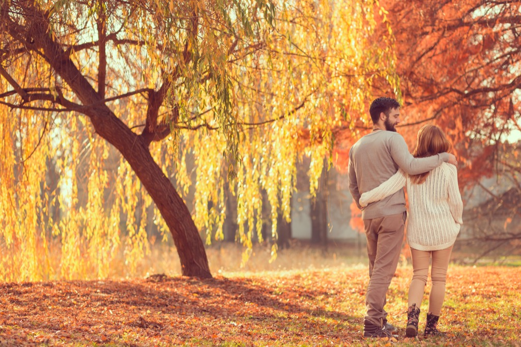 Relationship, couple, fall