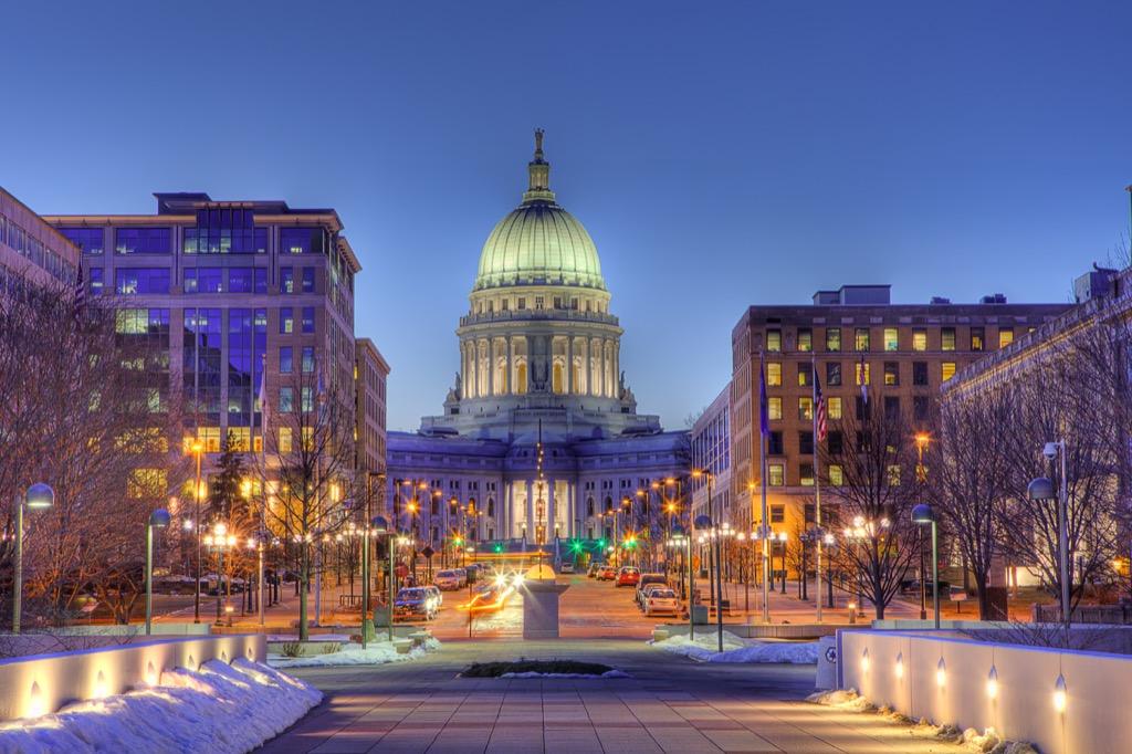 Madison, longest-living cities, happiest cities, drunkest cities, fittest cities, healthiest cities, best singles scenes
