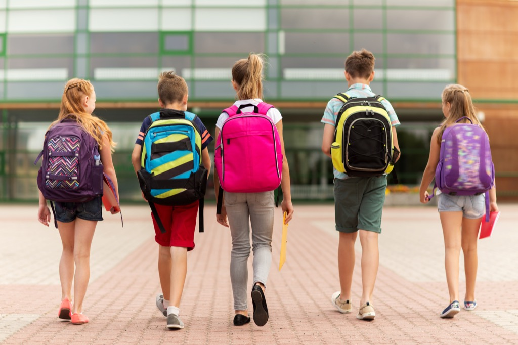 Scandalous, Sending kids to school