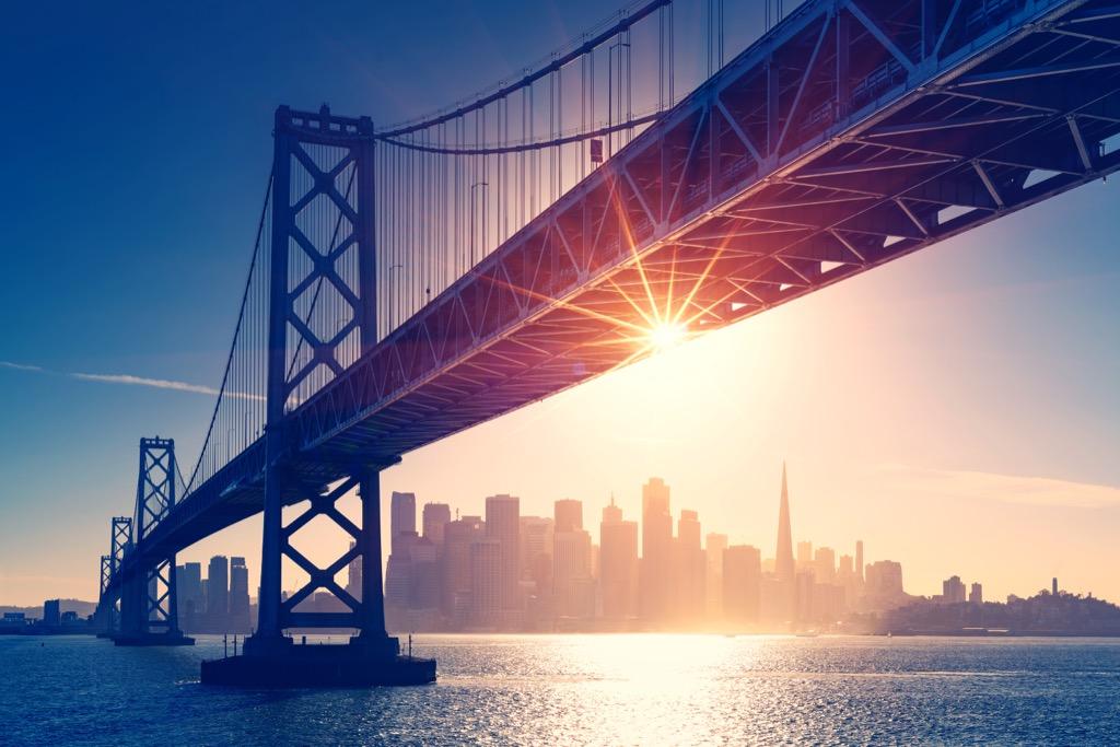 San Francisco, drunkest cities, happiest cities, fittest cities, healthiest cities, best singles scenes