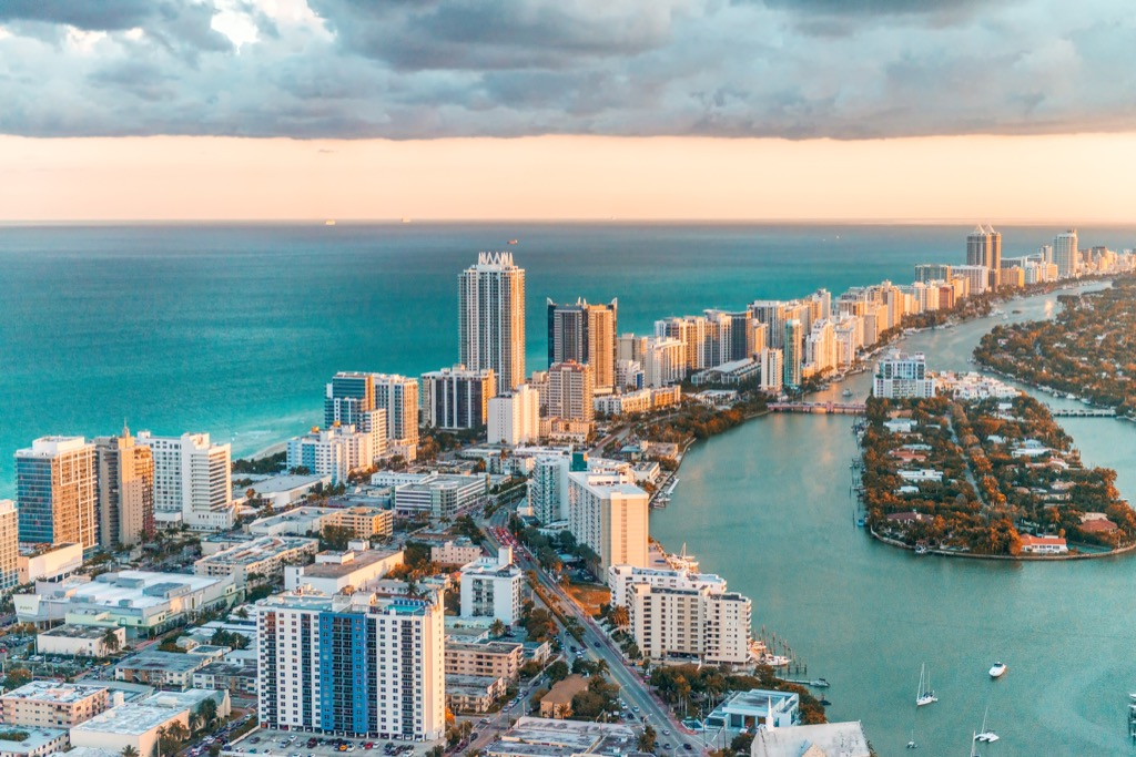 miami fittest cities, flip a house, longest commutes, rent, property, best job opportunities, sleepless cities, best drinking water