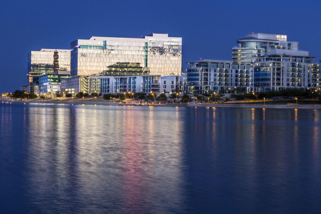 Tempe, happiest cities, drunkest cities, fittest cities, healthiest cities, tax friendly cities