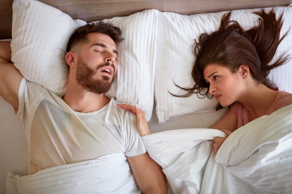 never going to bed angry is a mistake married people make