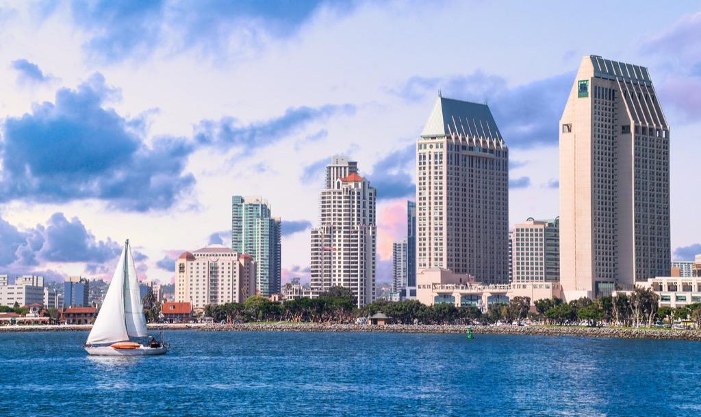 San Diego, happiest cities, drunkest cities, fittest cities, healthiest cities