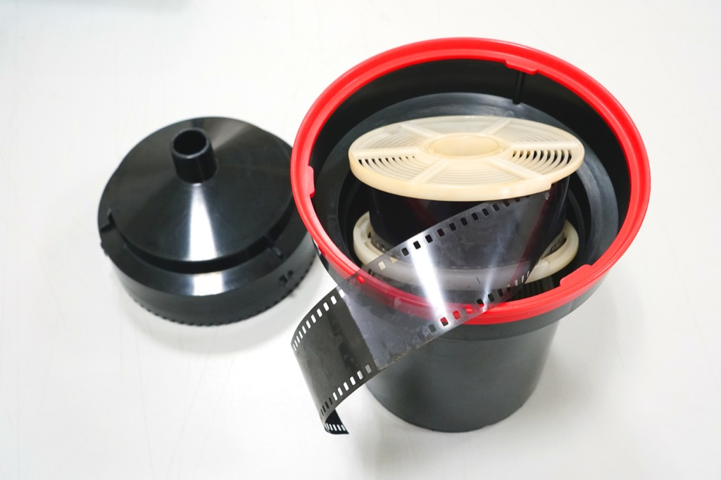 Obsolete things, camera film