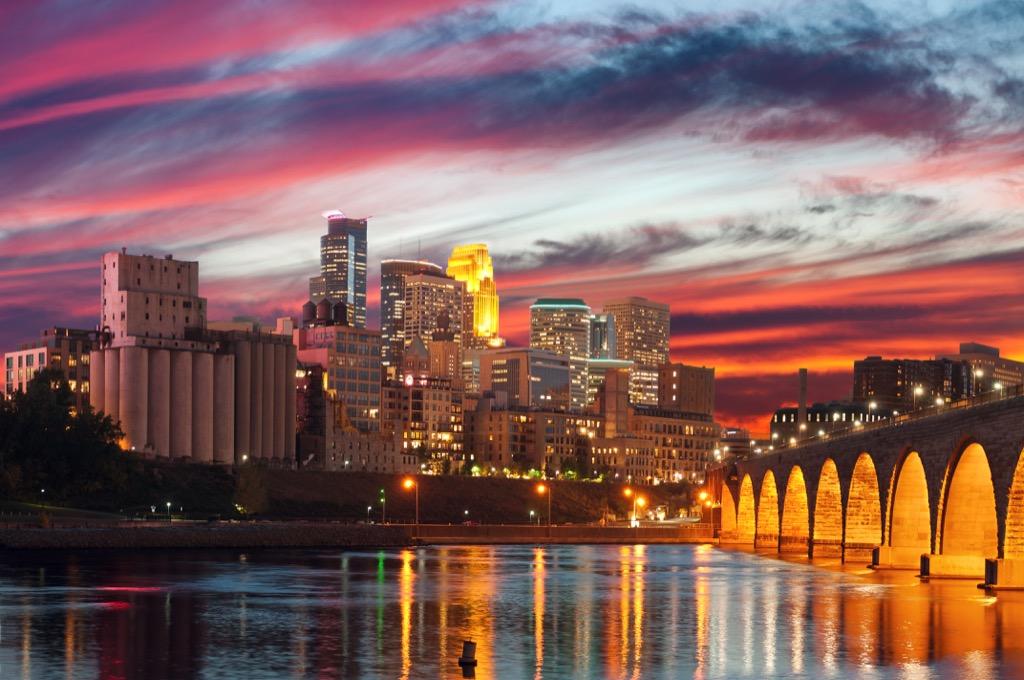 Minneapolis, happiest cities, drunkest cities, fittest cities, longest-living cities, healthiest cities, best singles scenes