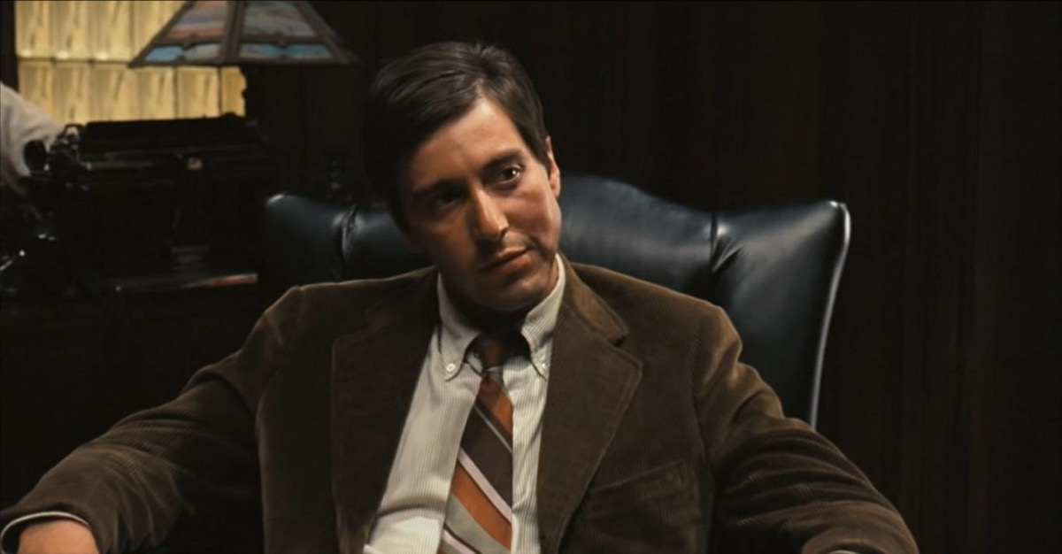 """Al Pacino in """"The Godfather"""""""