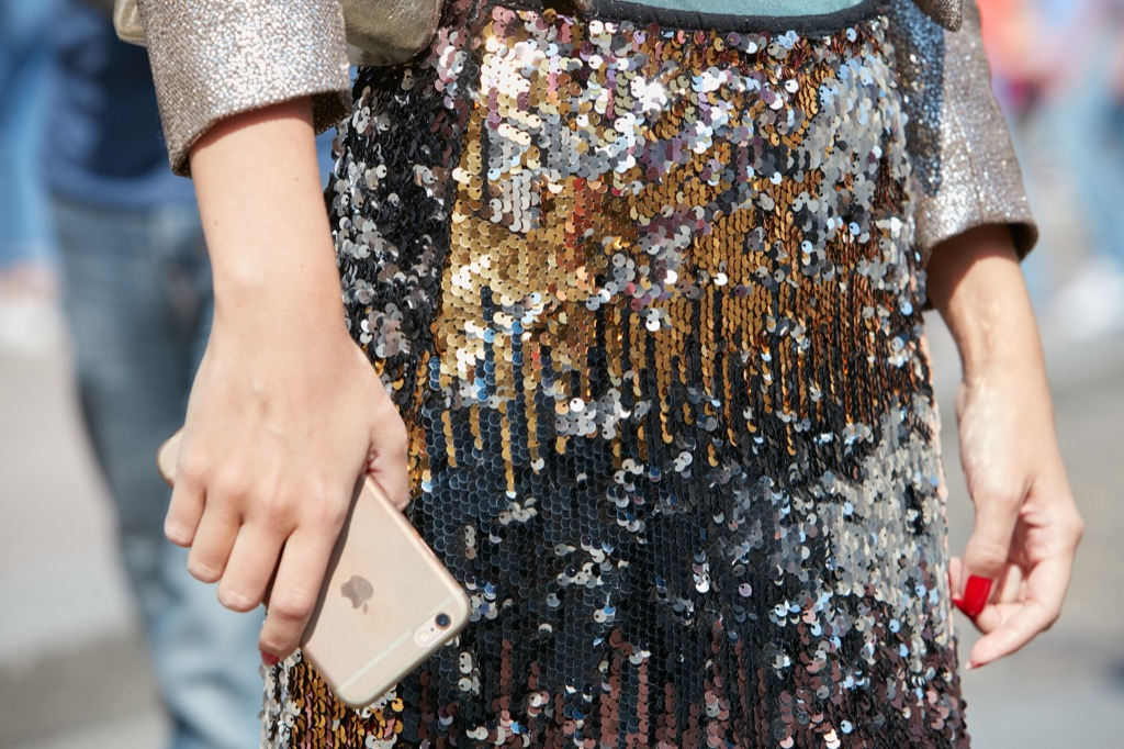 things no woman over 40 should own sequined denim