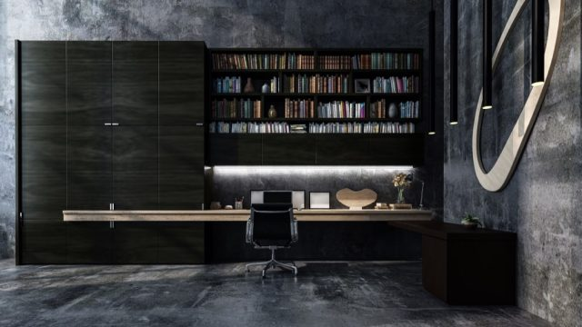 Beautiful office for a man in his 40s