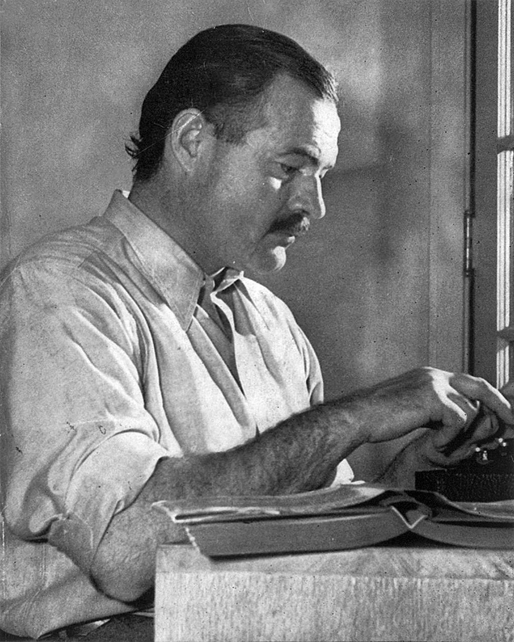 Ernest Hemingway, inspiring quotes