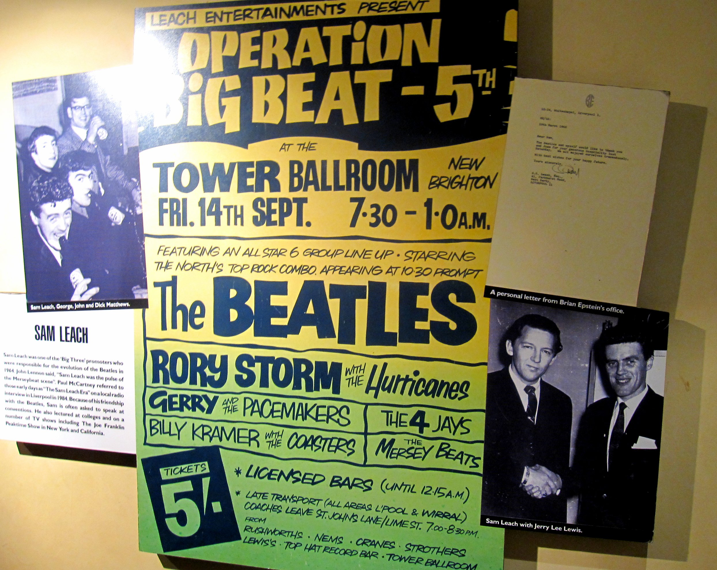 concert posters of the beatles