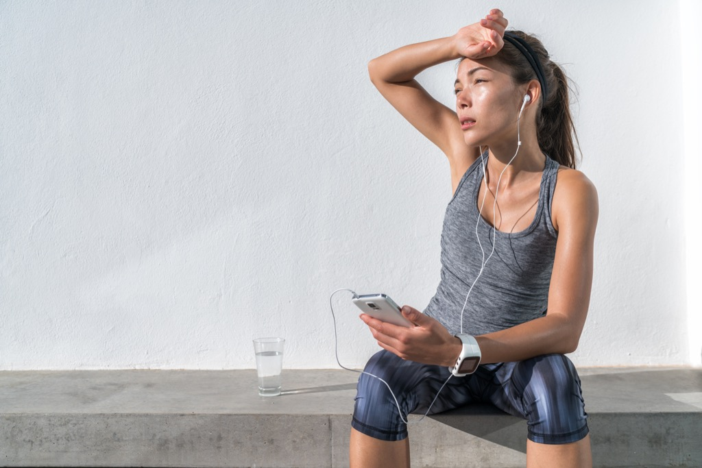 dehydrated lifestyle habits