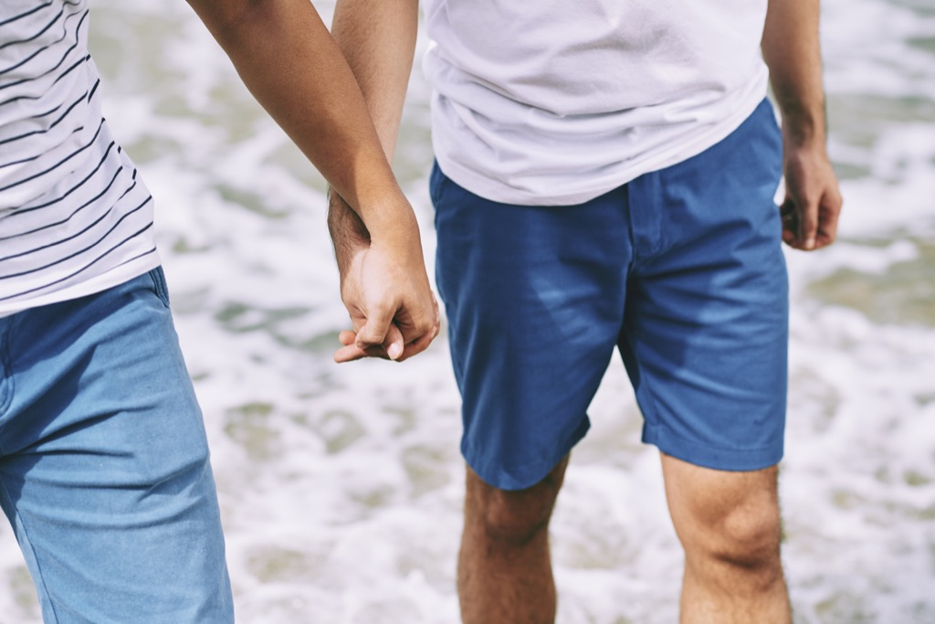 gay mens penises are larger on average divorce at 40