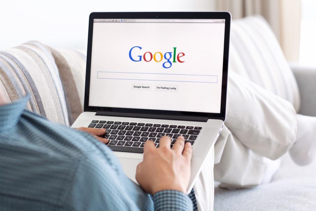 googling everything lifestyle habits