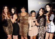 Khloe Kardashian, Kylie Jenner, Kris Jenner, Kourtney Kardashian, Kim Kardashian and Kendall Jenner in 2017