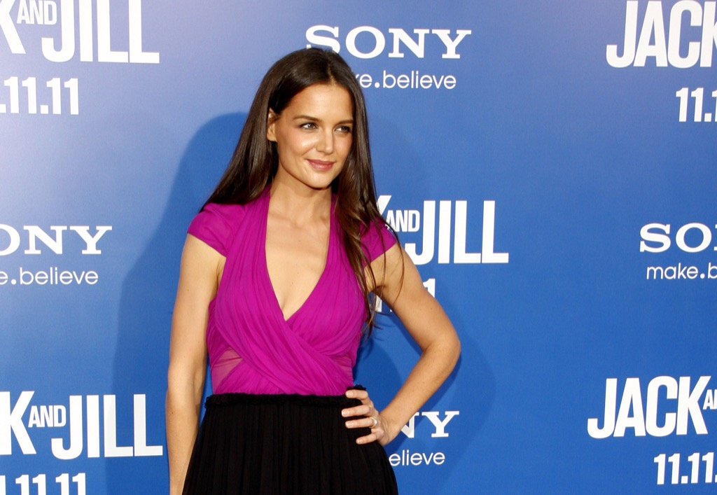 katie holmes fly coach