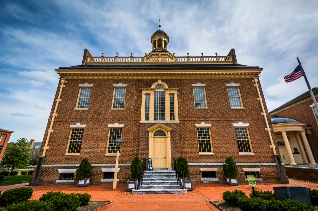 the old state house in delaware