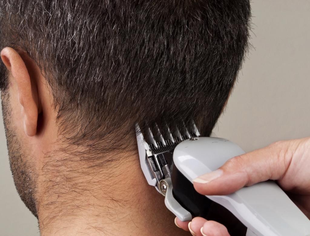 neck hair grooming