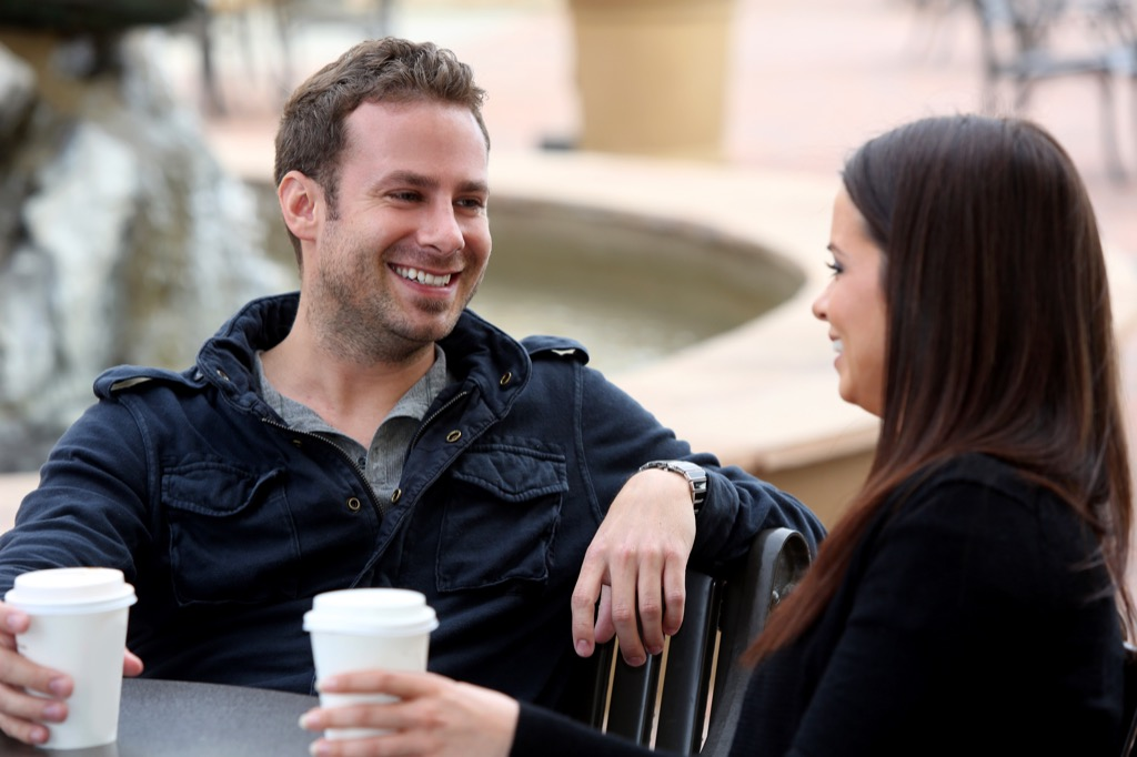 couple on a date - being single