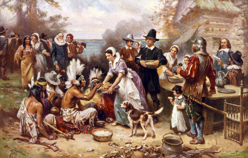 First Thanksgiving School Lessons