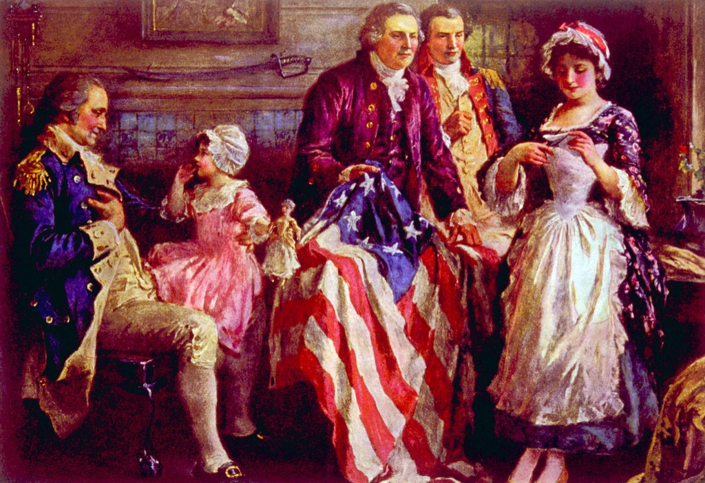 Betsy Ross and the Flag