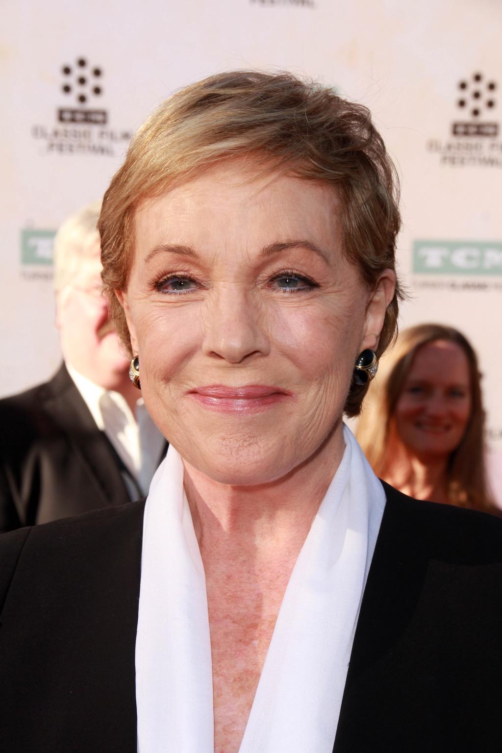 Julie Andrews most famous actors