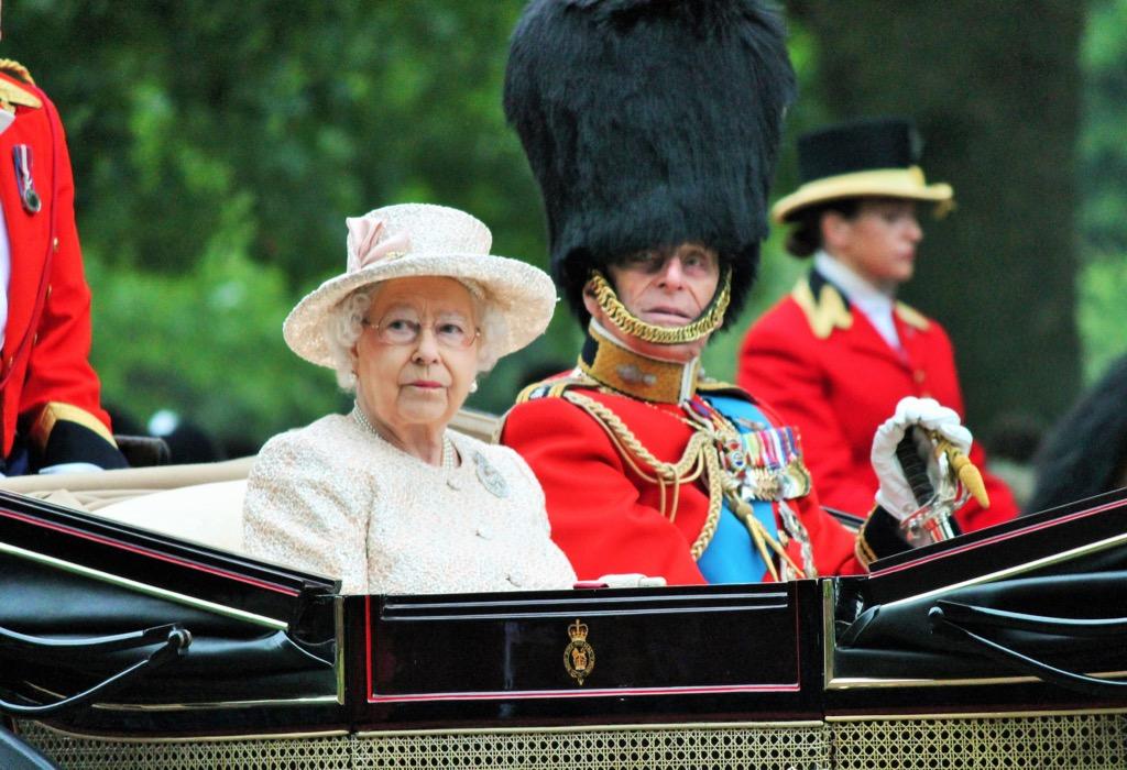 queen Elizabeth and prince Phillip british royals movies