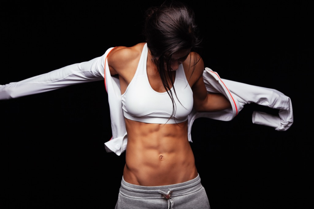 build muscle abs