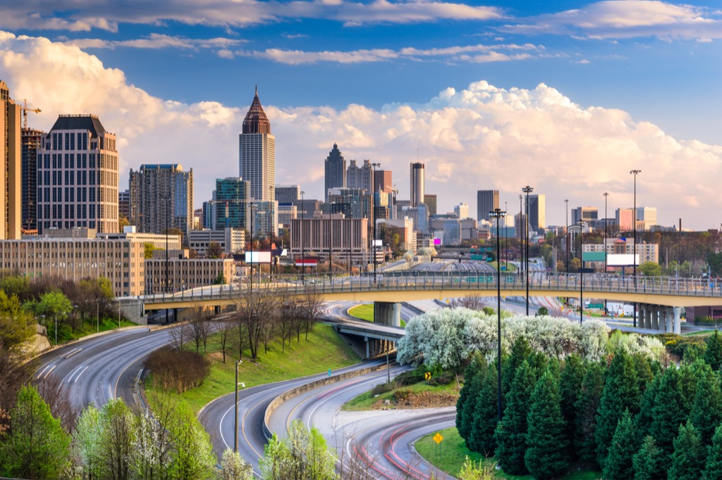 Atlanta Georgia, best job opportunity, best sports fans