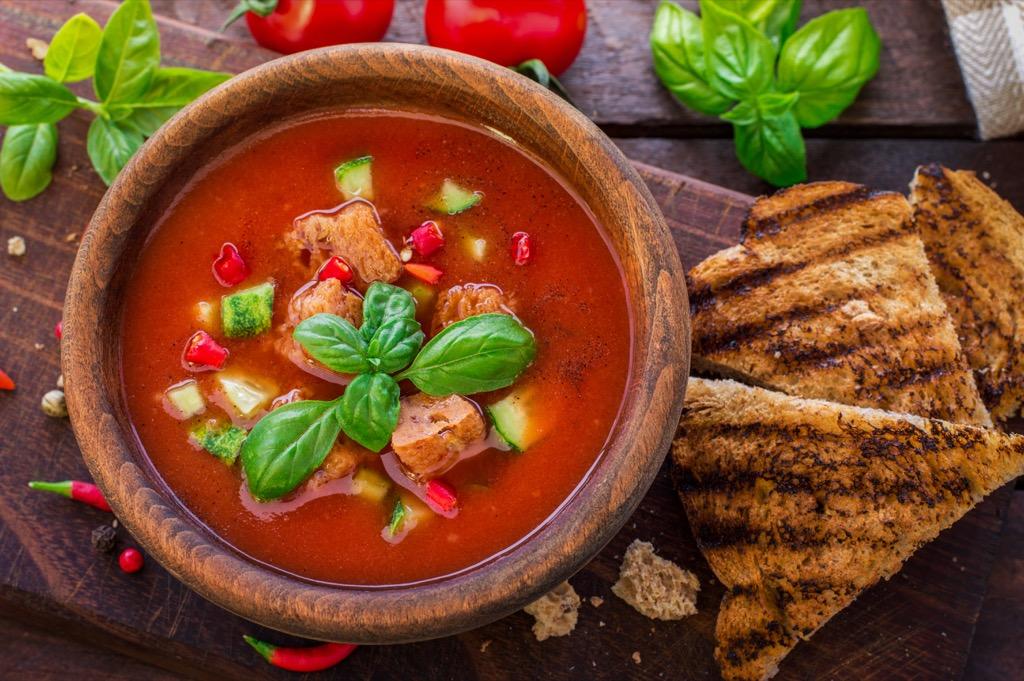 gazpacho Lower Blood Pressure