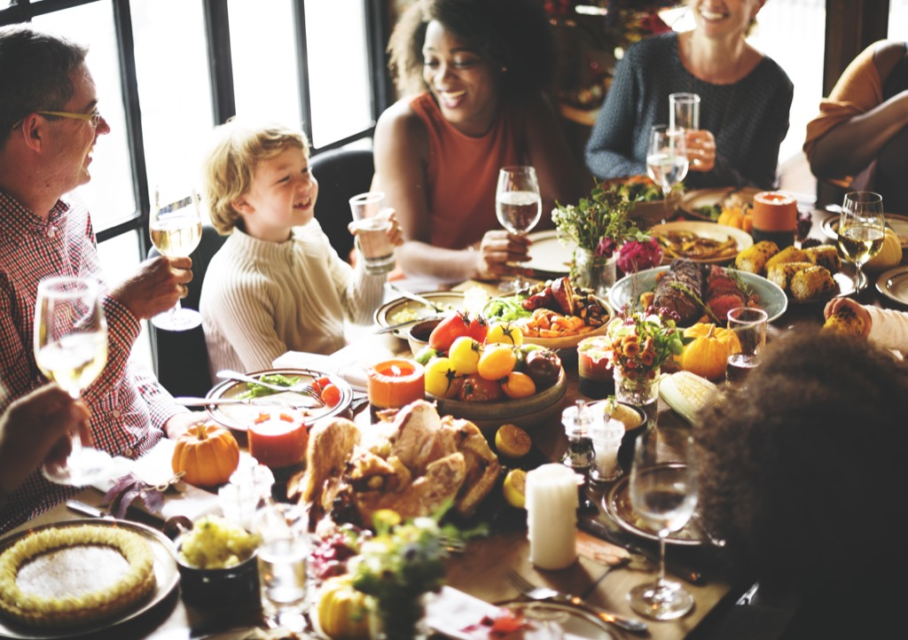 Thanksgiving Manners Dealing with Holiday Stress