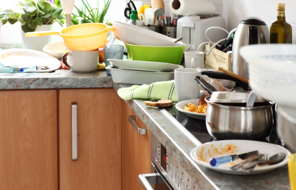 Cluttered kitchen housekeeper secrets