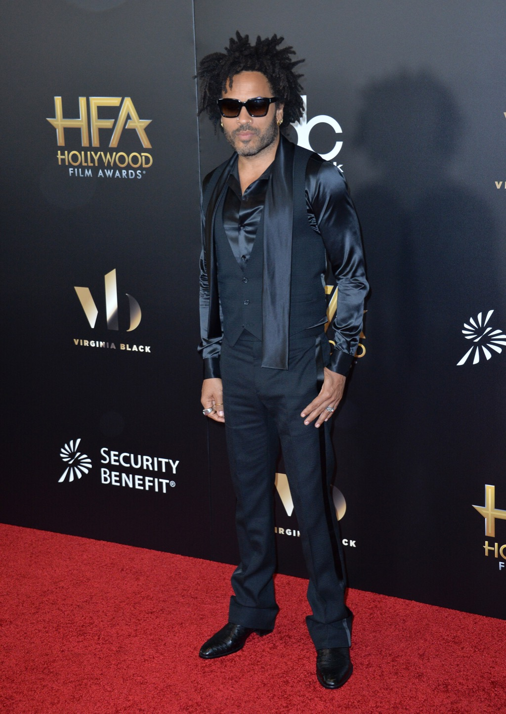 Lenny Kravitz long hair awesome facts