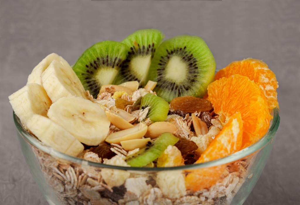 breast cancer prevention, fruit bowl
