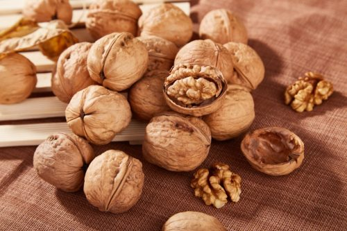 pile of walnuts, old school cleaning tips