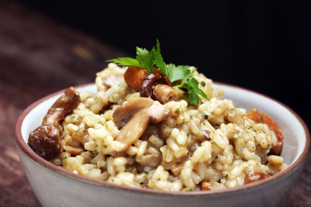 mushroom risotto meals