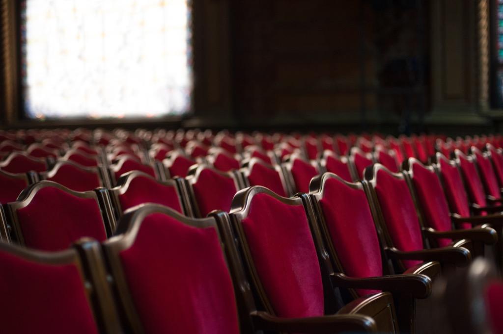 Empty Movie Theater 25 Years