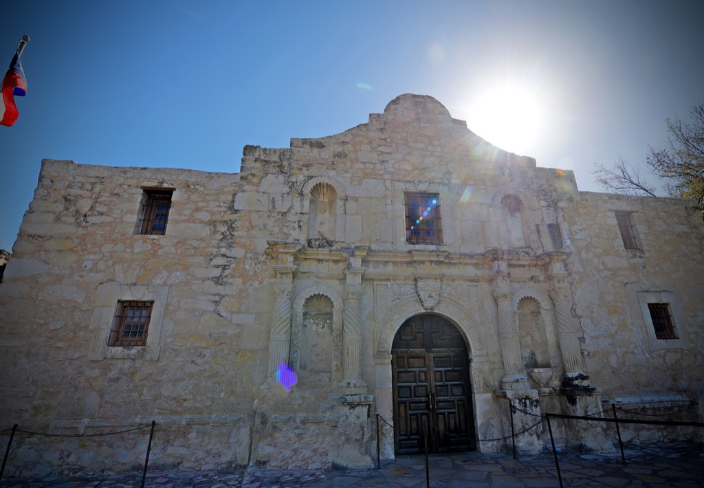 The Alamo most historic location every state