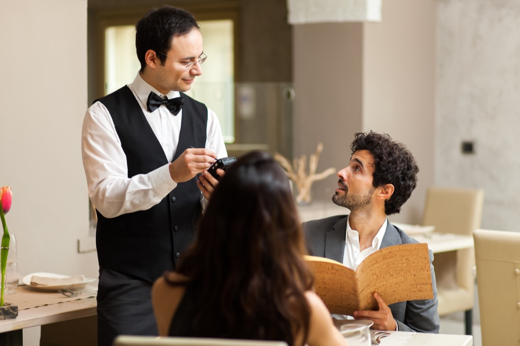 Things You Should Never Do in a Fancy Restaurant