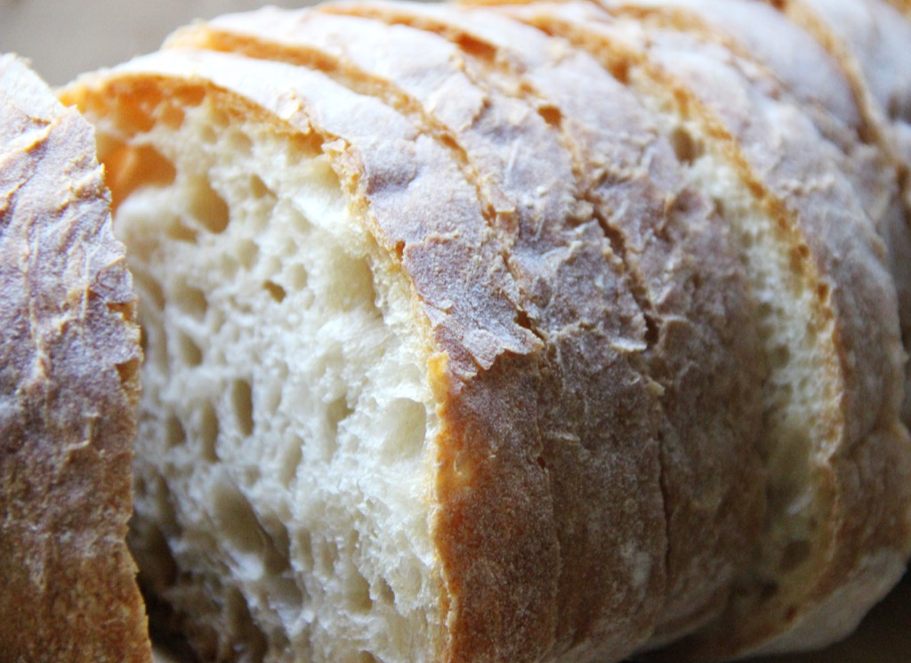 fresh bread Italians