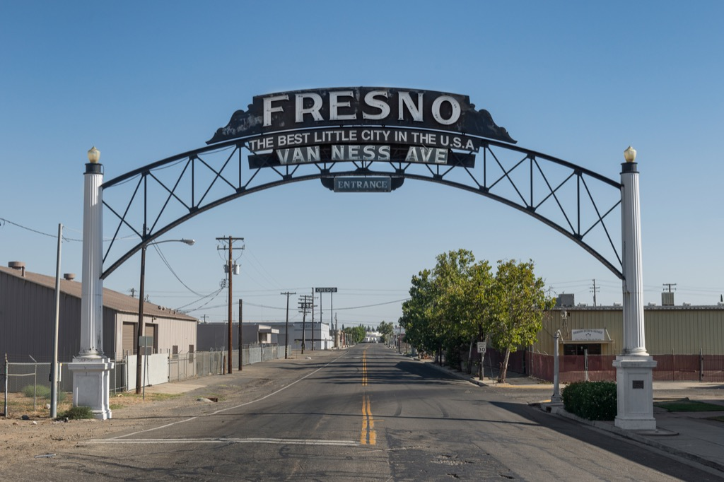 fresno california sleepless cities, worst drinking water