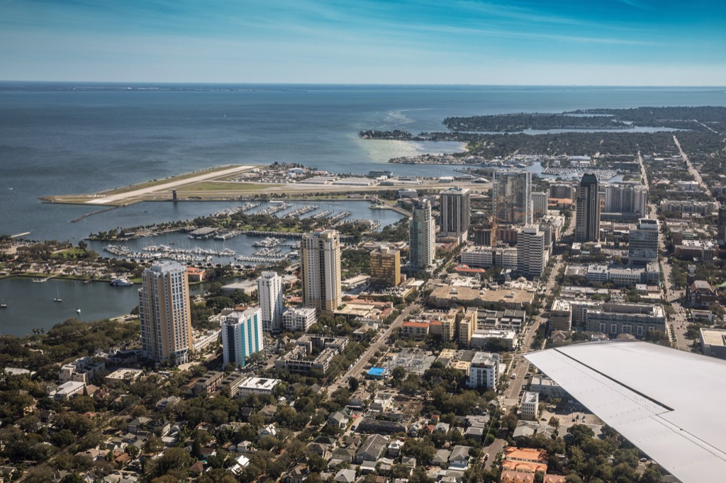 St. Petersburg Florida worst cities to drive in