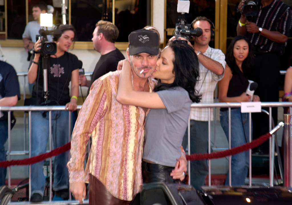 Billy Bob Thornton and Angelina Jolie, cheating spouses, celebrities not like us