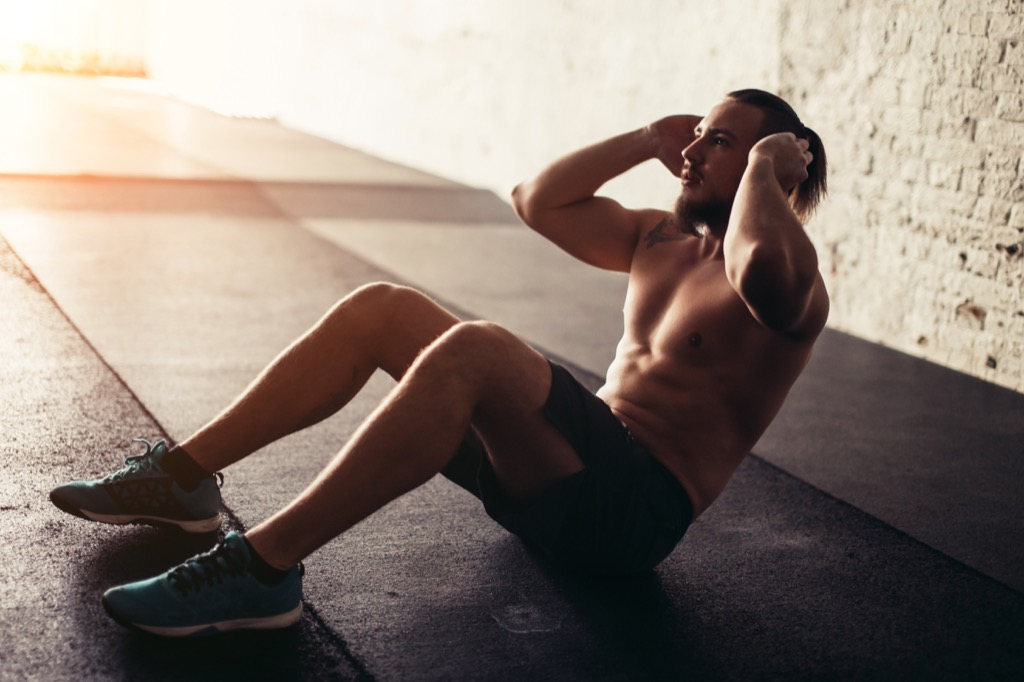 sit-ups six-pack abs