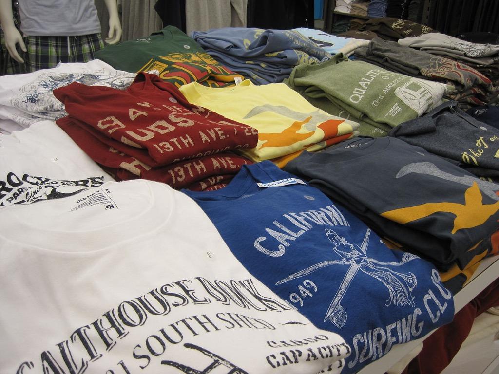 graphic t-shirts