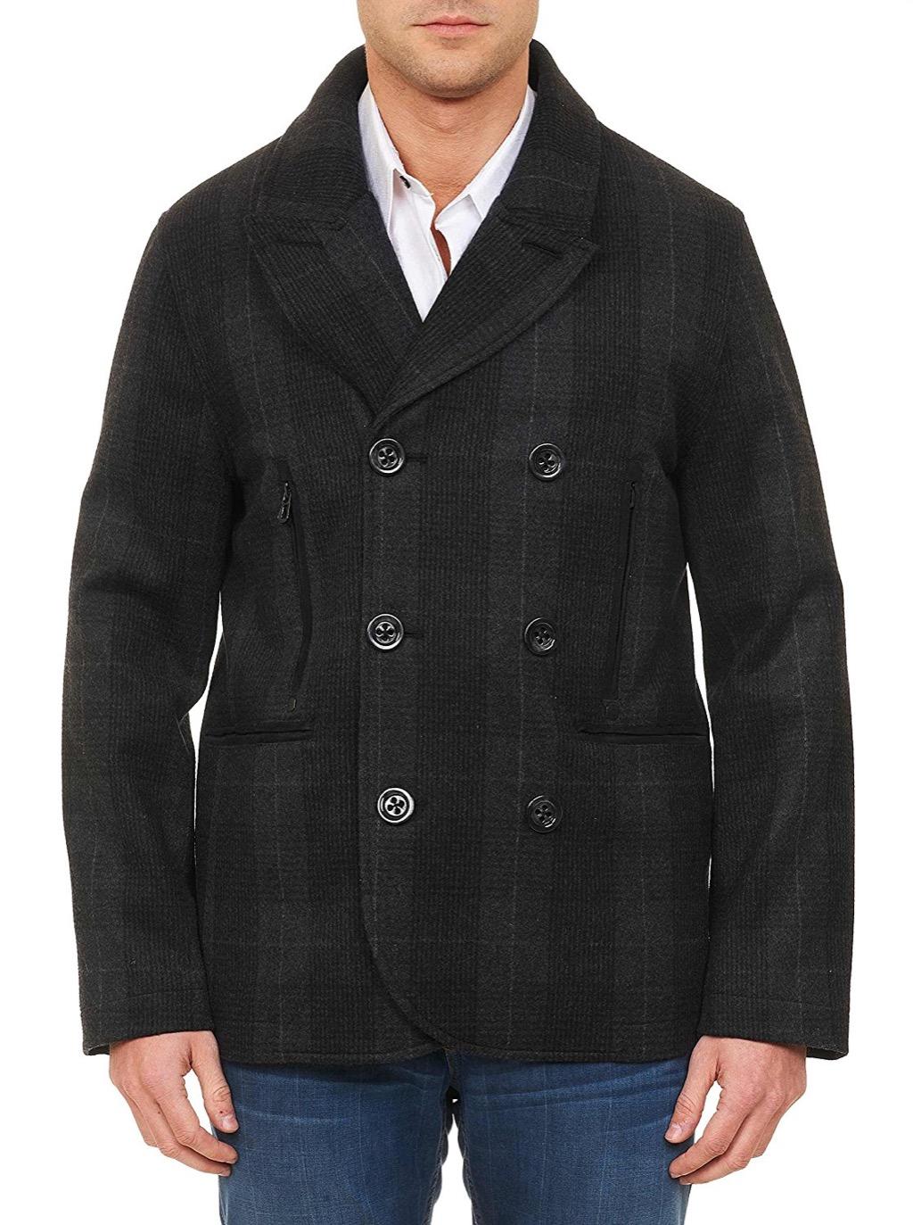 pea coat, fall menswear 2017